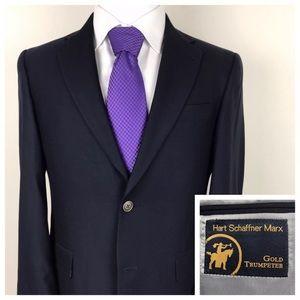 HART SCHAFFNER MARX Gold Blazer Sport Coat Jacket